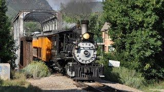 getlinkyoutube.com-Parade of Steam Trains - Durango and Silverton Railroad