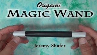 getlinkyoutube.com-Origami Magic Wand by Jeremy Shafer