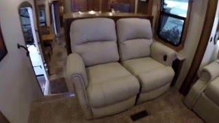 getlinkyoutube.com-2016 Heartland Landmark Madison Front Living Luxury Fifth Wheel