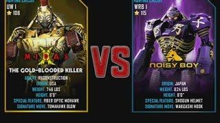 Real Steel WRB Midas VS Noisy boy NEW