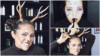 getlinkyoutube.com-Easy Deer Makeup