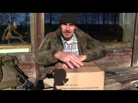 Unboxing Paket vom Steffen mit neuem Biwaksack und vielen Leckereien | Outdoor AusrüstungTV