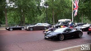 TOP GEAR 'Best of British' - McLaren P1, One-77, F1 Cars, F-Types Taxis, Minis...!
