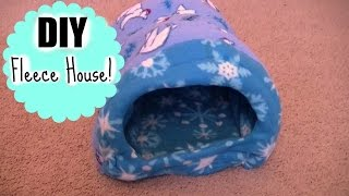 getlinkyoutube.com-DIY Guinea pig fleece house! |GuineaPigFans