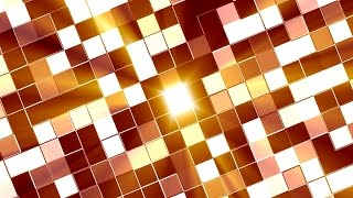 Twinkling Squares of Light Background