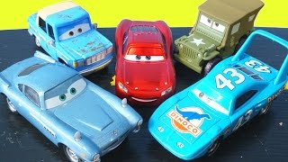 getlinkyoutube.com-DISNEY PIXAR CARS MATER INTRODUCES CARS FRIENDS TO LIGHTNING MCQUEEN OTIS FINN THE KING