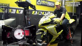 getlinkyoutube.com-HealTech QuickShifter easy (QSE) - Dyno test run, Suzuki GSX-R750