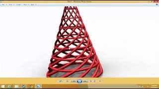 getlinkyoutube.com-NX 9.0 Helical Cone
