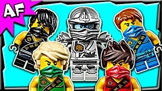 getlinkyoutube.com-Lego Ninjago Minifigures 2015 Zukin & Tournament Outfits Winter Collection