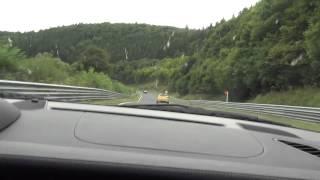 Porsche 911 GT2 (997) Nordschleife Taxi-Lap 2013-08-18