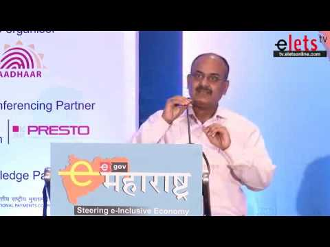 eMaharashtra 2013 Dr. AB Pandey, DDG, UIDAI, West, Government of India