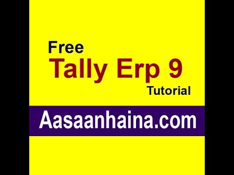 Learn Tally Erp 9 in Hindi Input Vat on Capital Goods And Vat Adjustment by sarvesh saroha