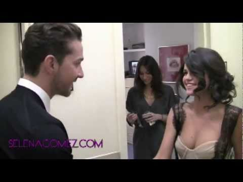 Selena Gomez Meeting Shia Lebeouf (June 28, 2011)