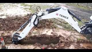 getlinkyoutube.com-Terex® TLB840R Backhoe: Rugged, Economical, Rental Tough