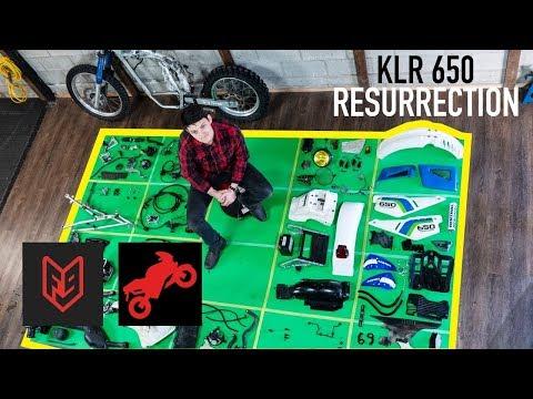 Полная Сборка Мотоцикла за 15 Минут - KLR650 Ускоренная Съёмка (FortNine)