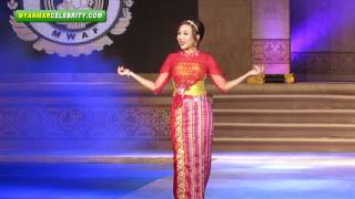 getlinkyoutube.com-Myanmar Women's Fashion & Dressing Style Show 2013