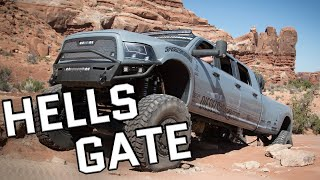 getlinkyoutube.com-Mega Ram Runner Takes On Hells Gate