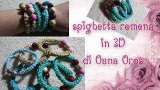getlinkyoutube.com-spighetta romena 3D all'uncinetto