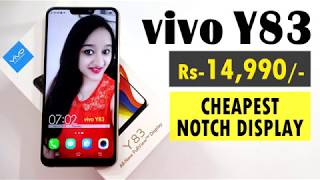 VIVO Y83 - Unboxing & Overview - In Hindi width=