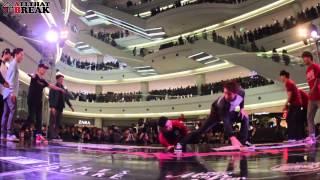 getlinkyoutube.com-One Way Crew vs Gamblerz / QF_4 / Chelles Battle Pro 2014 Korea Elimination / Allthatbreak.com