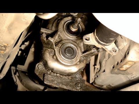 Замена САЛЬНИКА хвостовика МКПП BMW 525