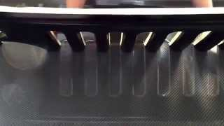 getlinkyoutube.com-Hydro Dip Jeep Grill in Carbon Fiber