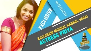 getlinkyoutube.com-Interview with Kalyanam Mudhal Kadhal Varai actress Priya