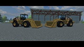 getlinkyoutube.com-Cat 980H Mod For Farming Simulator 2013 (Part of the Cat Fleet Pack)