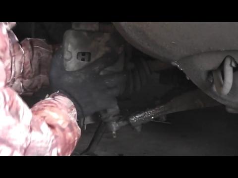 Расположение рулевых наконечников в Хендай Атос