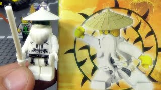 getlinkyoutube.com-decool 닌자고 사부님 마스터 우(Sensei Wu) 레고 짝퉁 제품 미니피규어  조립기