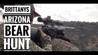 getlinkyoutube.com-Brittany's Arizona Bear Hunt 2014