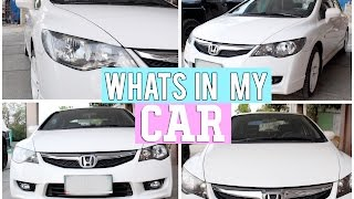 getlinkyoutube.com-What's in my CAR? - Michelle Dy