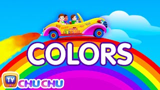 getlinkyoutube.com-Let's Learn The Colors! - Cartoon Animation Color Songs for Children by ChuChuTV