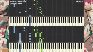 getlinkyoutube.com-Sonic Heroes - Casino Park | Awesome for Piano