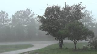 Heavy Rain Storm 2 days after Hurricane Irene  ( Sony Cyber-Shot HX9V 1080P HD ) width=
