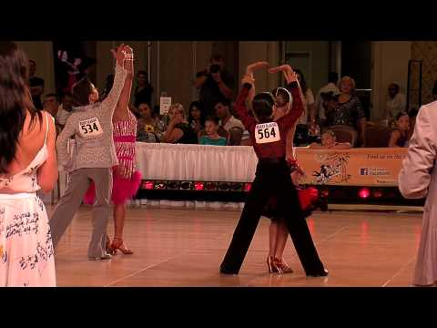 2012 Desert Classic Junior I Latin Final - Ballroom Dance Kids Video