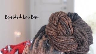 Braided Top Knot  | Loc Tutorial