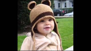 getlinkyoutube.com-30 вариантов вязаных детских шапочек