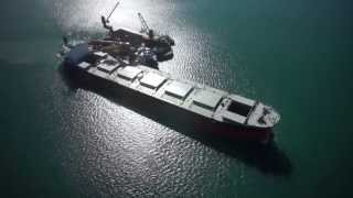 getlinkyoutube.com-DJI S 800 with Zenmuse Sony Nex 7 offshore vessel