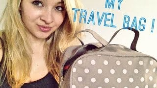TAG | What's my Travel Bag ?