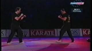 getlinkyoutube.com-Ron Balicki and Willie Laureano Jeet Kune Do Demo in Paris France Bercy Martial Arts Festival