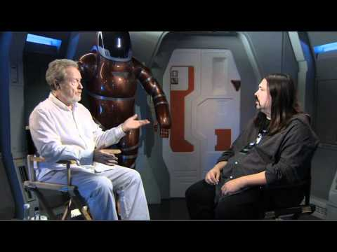 Prometheus - Director Ridley Scott Interview (JoBlo.com)