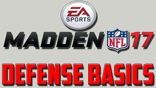 getlinkyoutube.com-Madden 17 Best Unstoppable Defense How To: Defense Basics