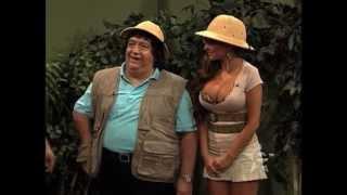 getlinkyoutube.com-Comedia y Risas en Estudio2: Tarzan De La Selva con Ninel Conde y Gaby Ramirez