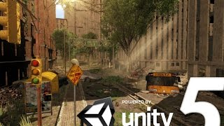 getlinkyoutube.com-Speed Level Design : Apocalyptic City - Unity 5