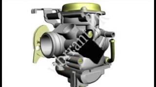 getlinkyoutube.com-Suzuki GS150R : B S TYPE Carburettor