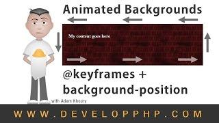 getlinkyoutube.com-Background Position keyframes Animation CSS Tutorial
