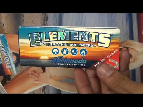 Elements Rolling Papers Aficionado