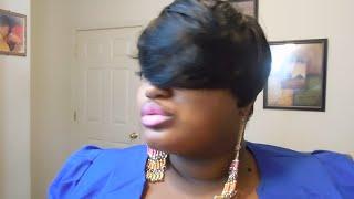 getlinkyoutube.com-Sensationnel 100% Human Hair Bump Wig FAB FRINGE