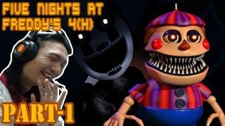 getlinkyoutube.com-สนุกกะบอลลูนบอย และการโกง! ;w;b :-Five Nights At Freddy's 4 DLC (Halloween) #1